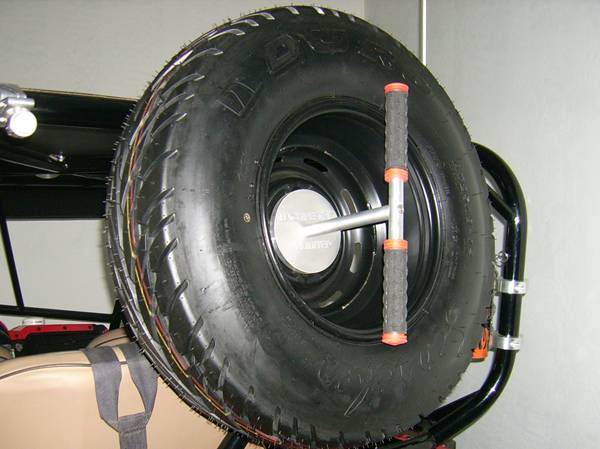 Billet Spare Tire Carrier
